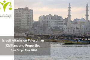 Monthly Statistical Report 2020: Israeli Attacks on Palestinian Civilians and Properties